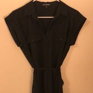 NWOT Express Black Dress